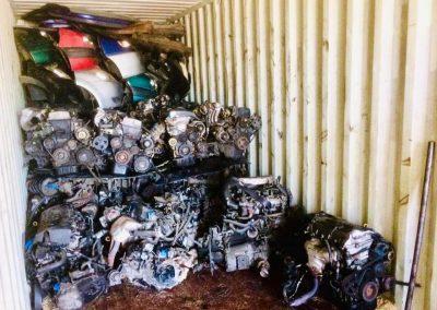 Exporting car parts
