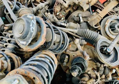 Car parts for recycling