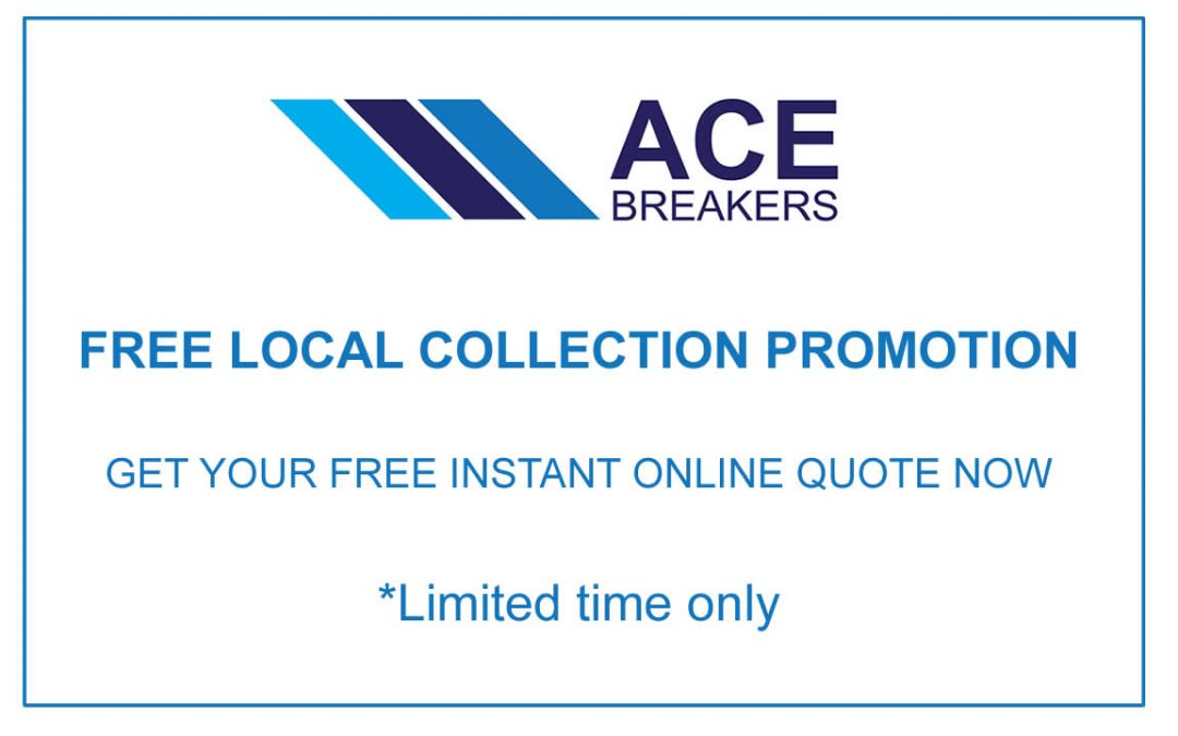 Scrap car promotion - Free local collection