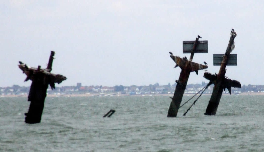 The SS Richard Montgomery wreck near Sheerness