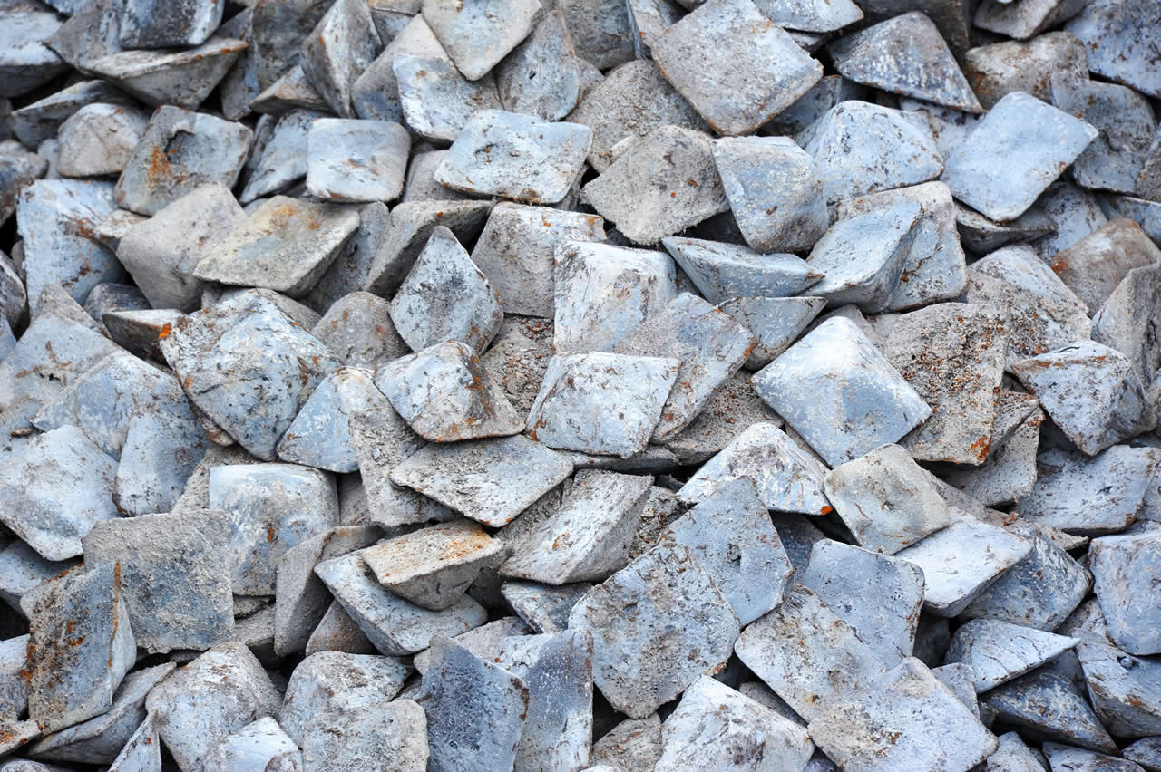 Ingots of pig iron