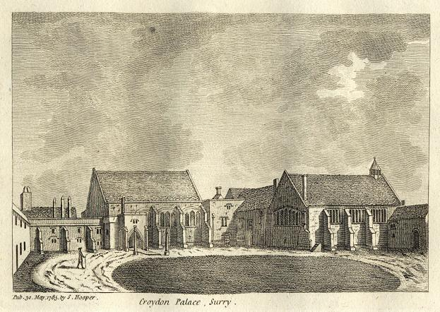 Croydon Palace as it looked in 1785