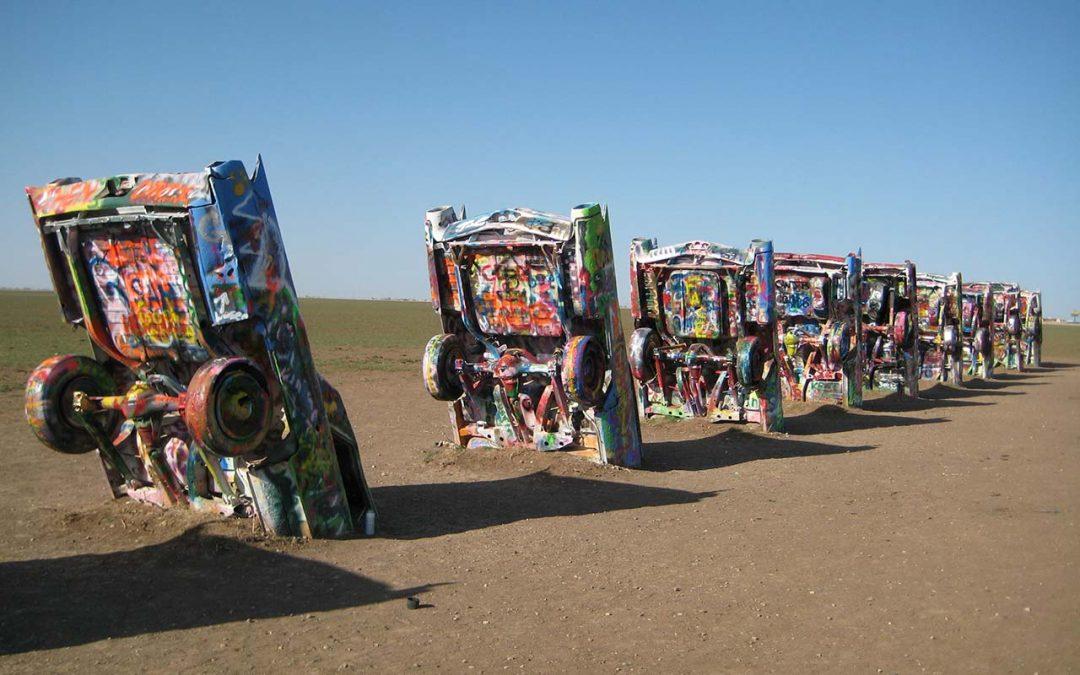Cadillac Ranch – Scrap Car Heaven